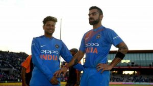 Kuldeep's 5w & Rahul 100* leads India in T'20 Series with England
