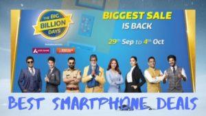 Best Smartphone deals during Big Billion Sale:2019