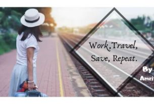 work,travel ,save,repeat