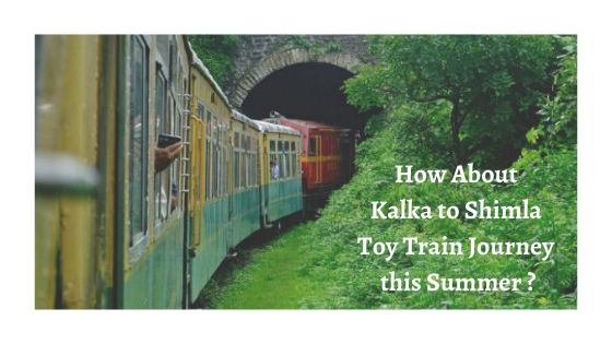 The Himalayan Queen Journey From Kalka To Shimla.