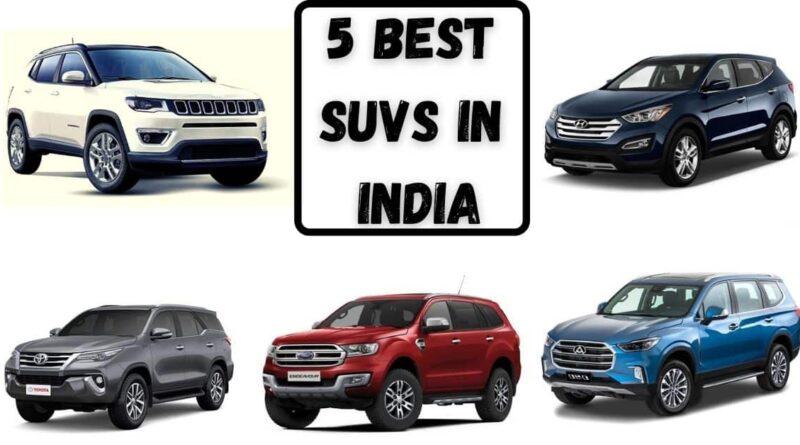 5 Best SUVs in India