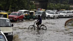 Delhi receives highest August rainfall in 12 years, leads to waterlogging